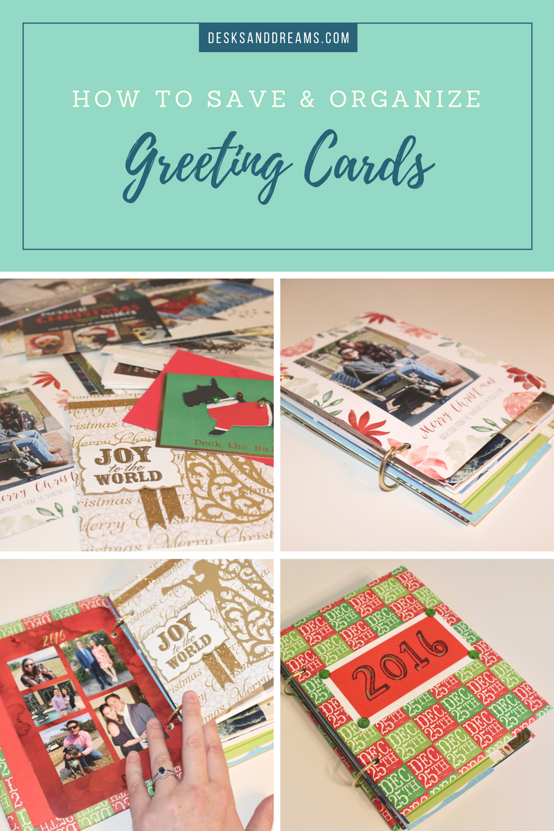 Greeting cards keepsake album how to save and organize greeting how to save and organize greeting cards m4hsunfo