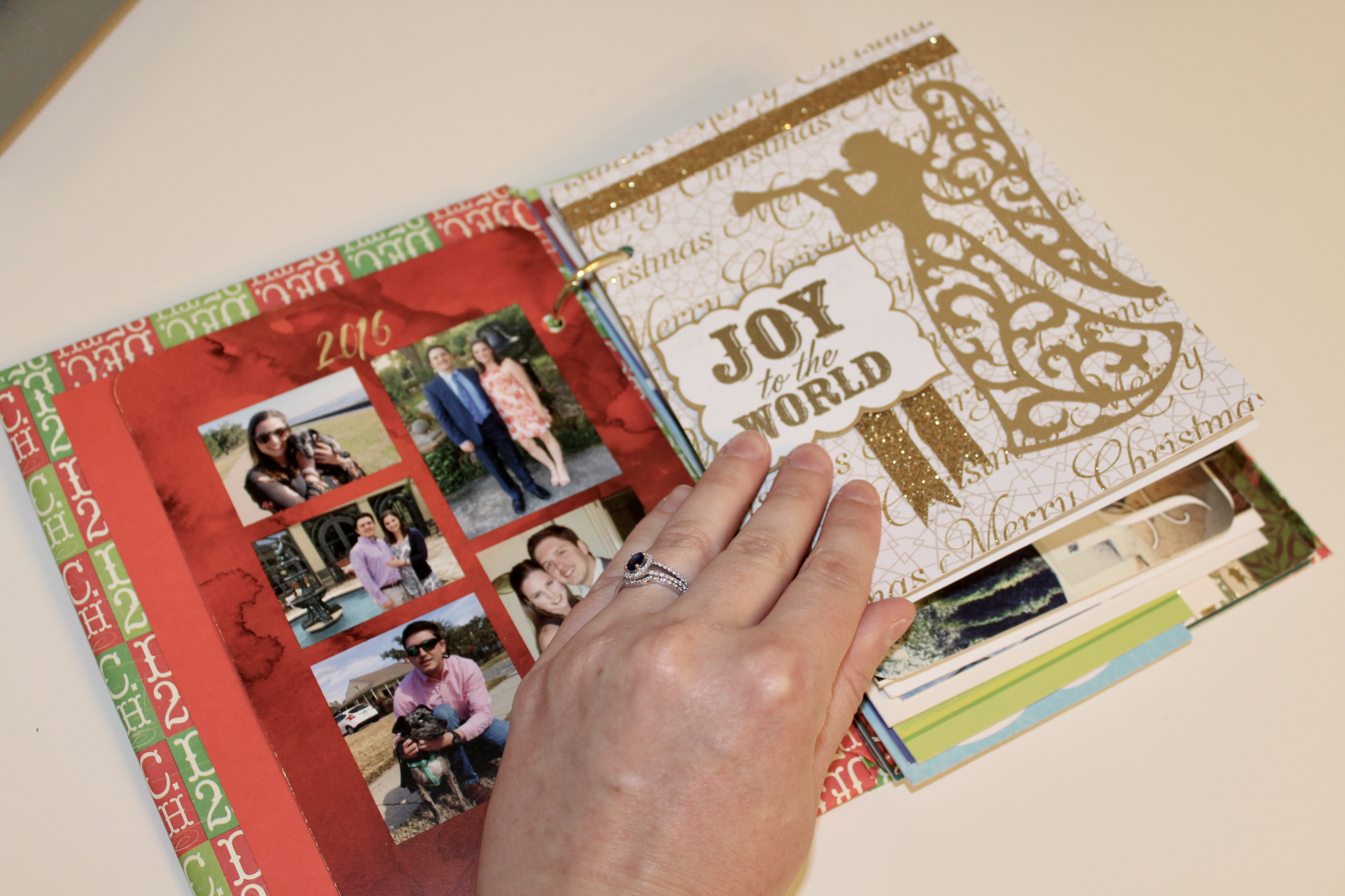 Greeting Cards Keepsake Album - How to Save and Organize Greeting